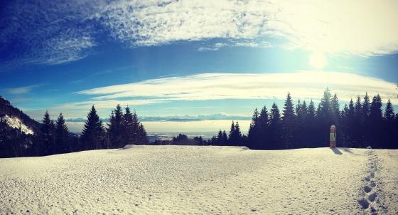 Vue alpes pas